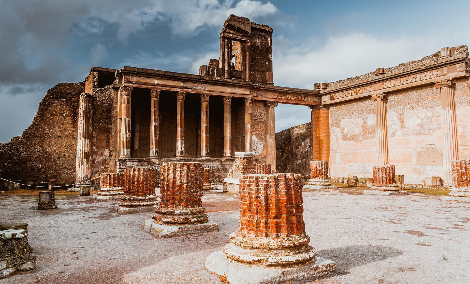 Private Pompeii & Amalfi Coast