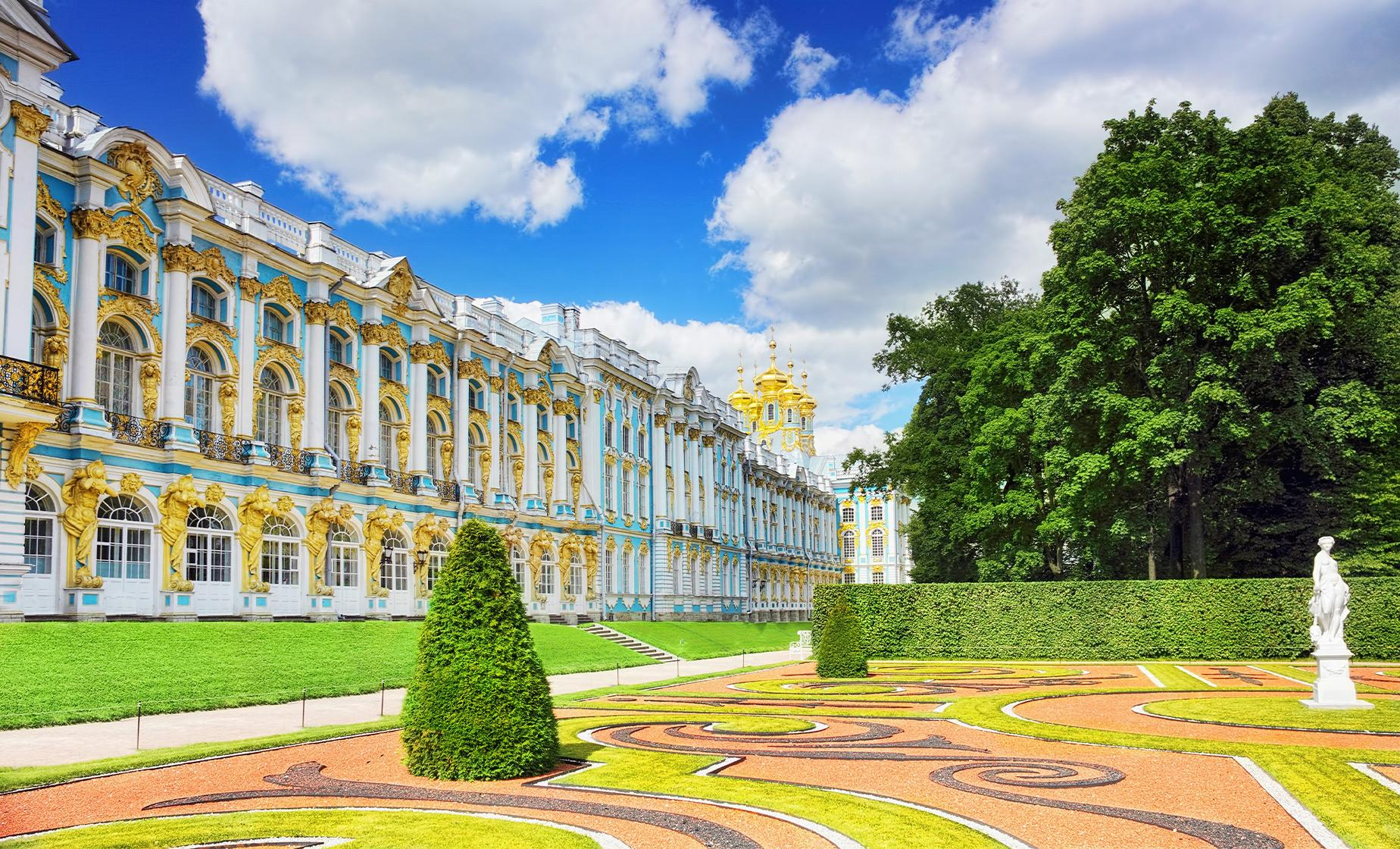 Private Catherine's Palace in Pushkin Tour from St. Petersburg (Visas Included)