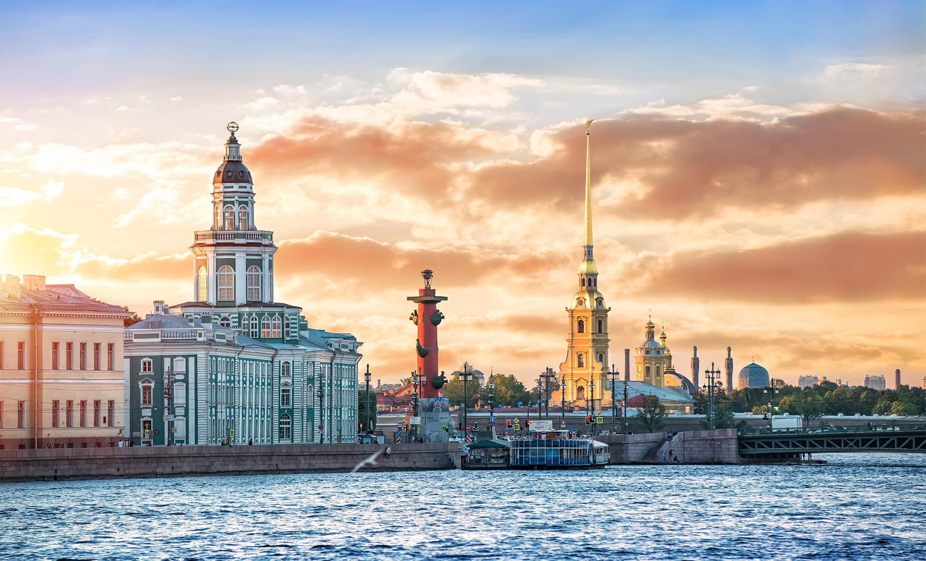Private City Highlights and Peter and Paul Fortress