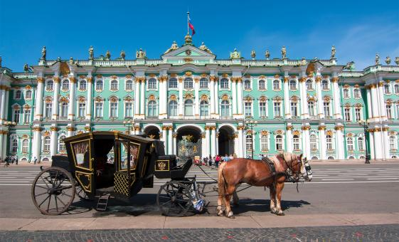 Private Grand St. Petersburg Tour (Visas Included) (Winter Palace, Bronze Horseman, Synagogue)
