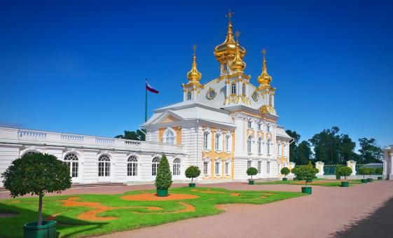 Private Peterhof Russian Versailles Tour from St. Petersburg (Visas Included) (Grand Cascade)
