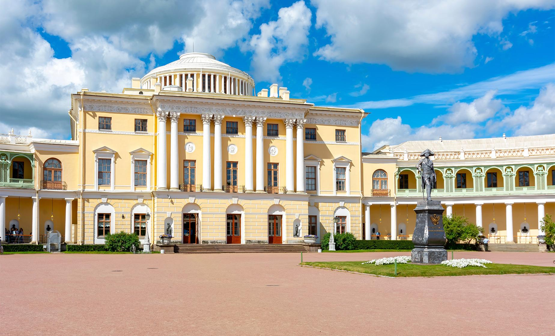 Catherine's Palace and Pavlovsk Residence (Visas Included)