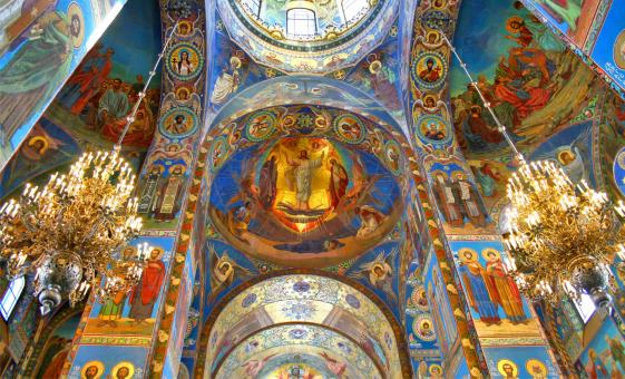 Half Day St. Petersburg City Tour and Church of Spilled Blood (Visas Included)