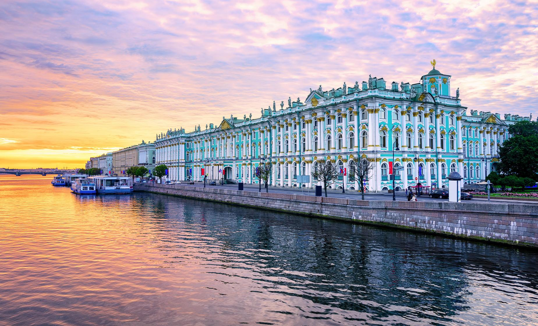 Hermitage Museum and Canals (Visas Included)