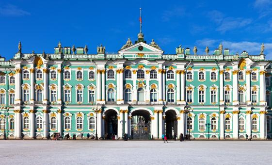 Hermitage and Peterhof Gardens with Lunch (Visas Included)