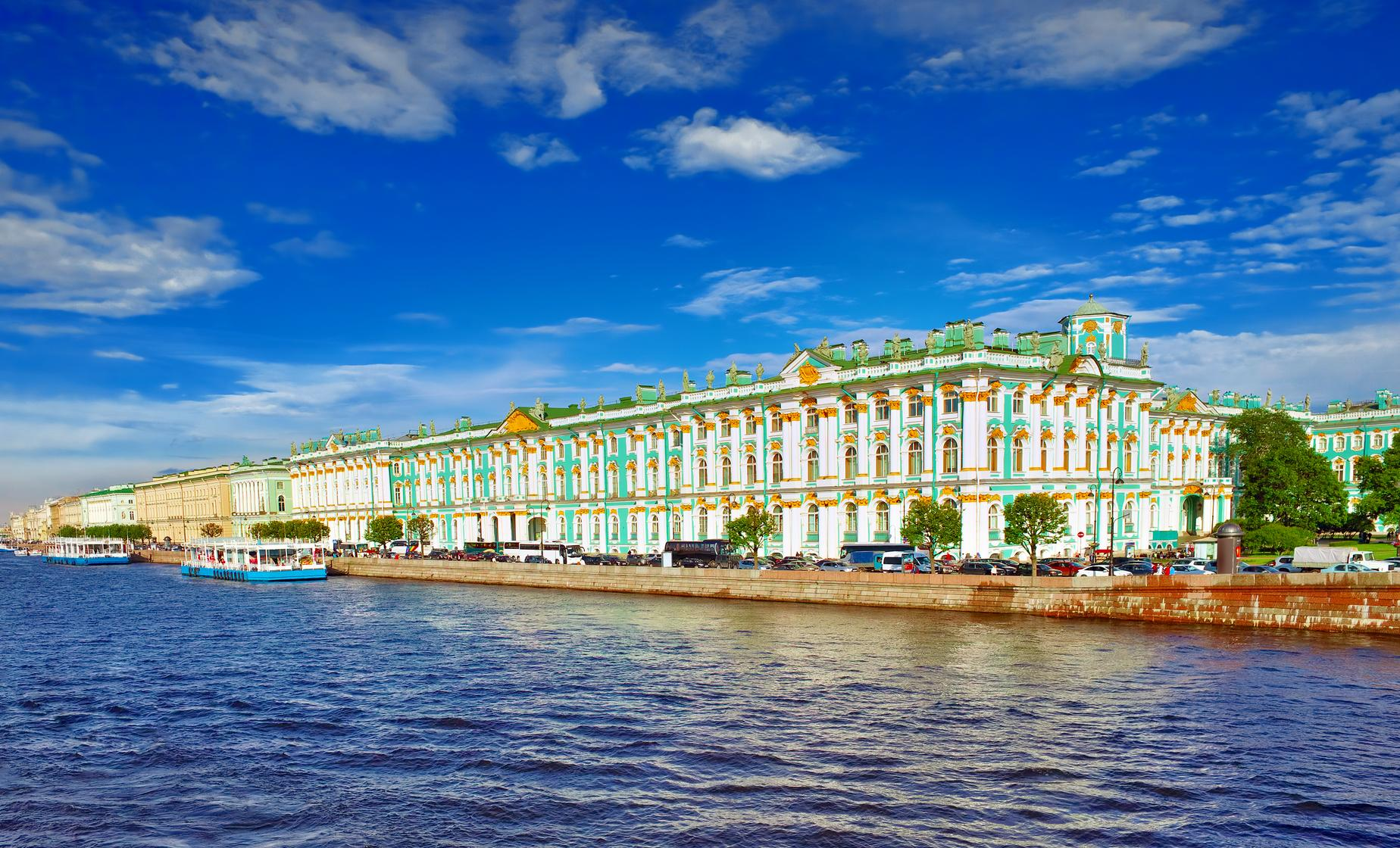 Panoramic Drive of St. Petersburg