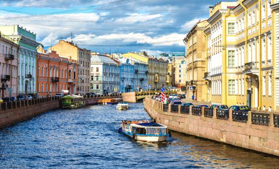 Private 2-Day St. Petersburg with Canal Cruise (Visas Included)