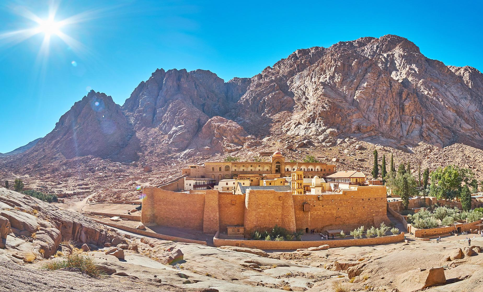 Journey to St. Catherine Monastery
