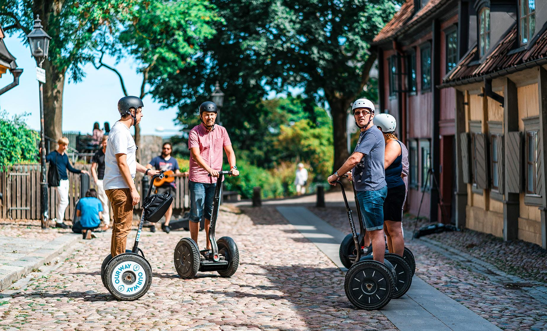 Sodermalm by Segway
