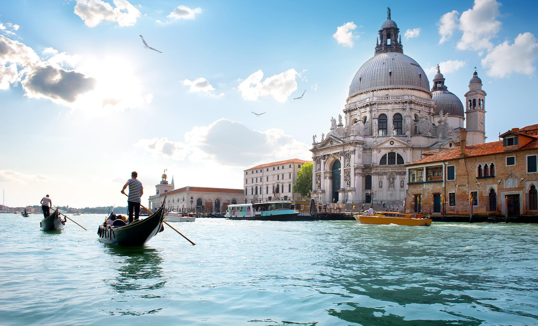 Venice Gondola Ride Tour (St. Mark's Square, Grand Canal)