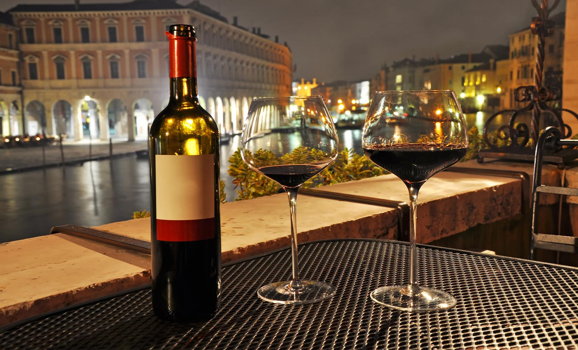 Evening Wine Tasting in Venice