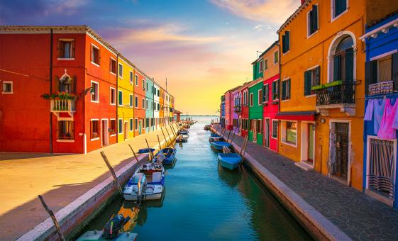 Enchanted Isles of Murano, Burano and Torcello Tour in Venice (St. George Island)