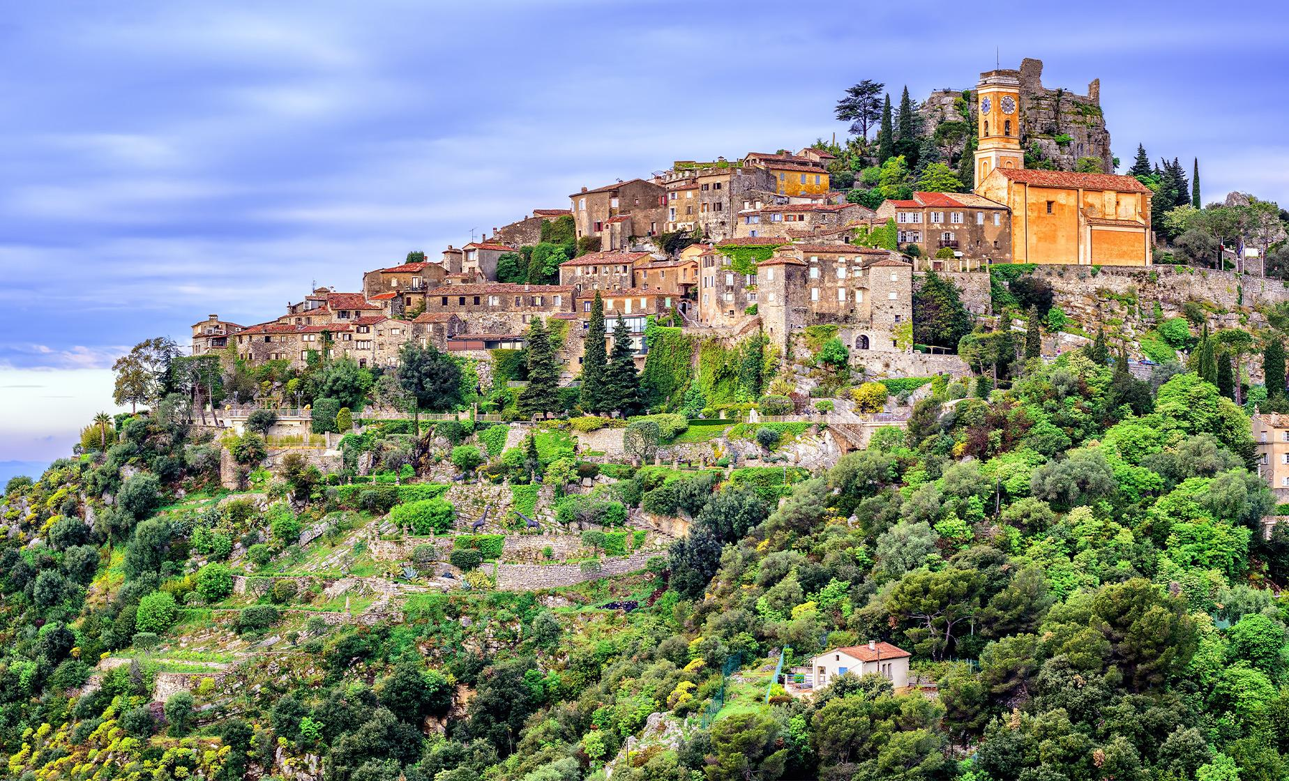 Private Eze and Monte Carlo Tour from Villefranche (Chapelle de la Sainte Croix)