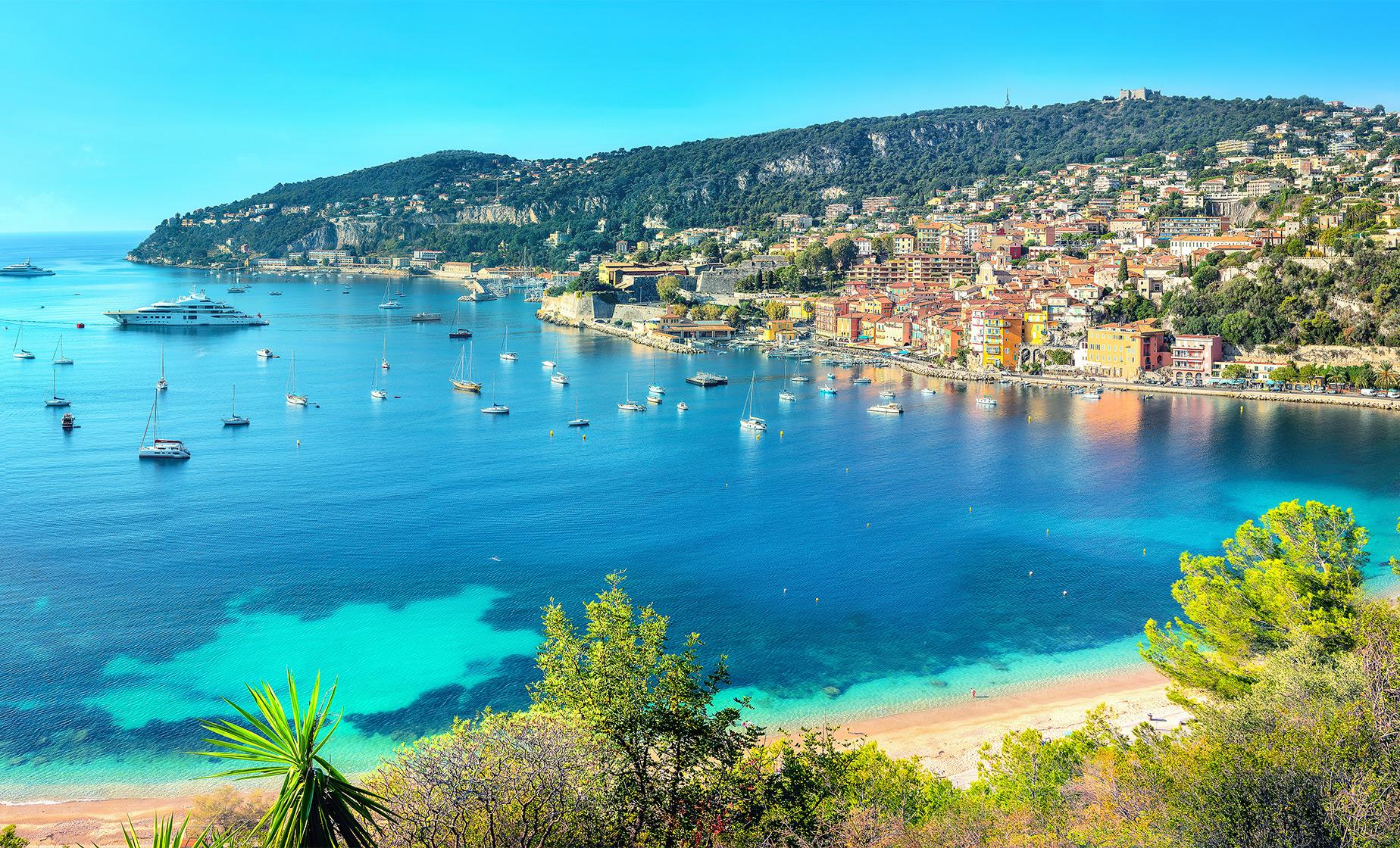 French Riviera Tour from Villefranche (Antibes, Croisette Boulevard)