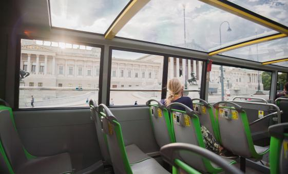Hop-on Hop-off Vienna Highlights Tour