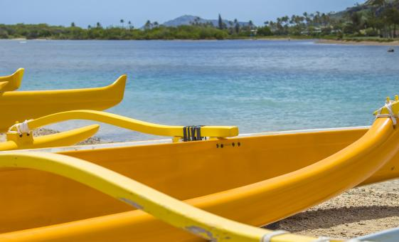 Ancient Hawaiian Outrigger Canoe Adventure