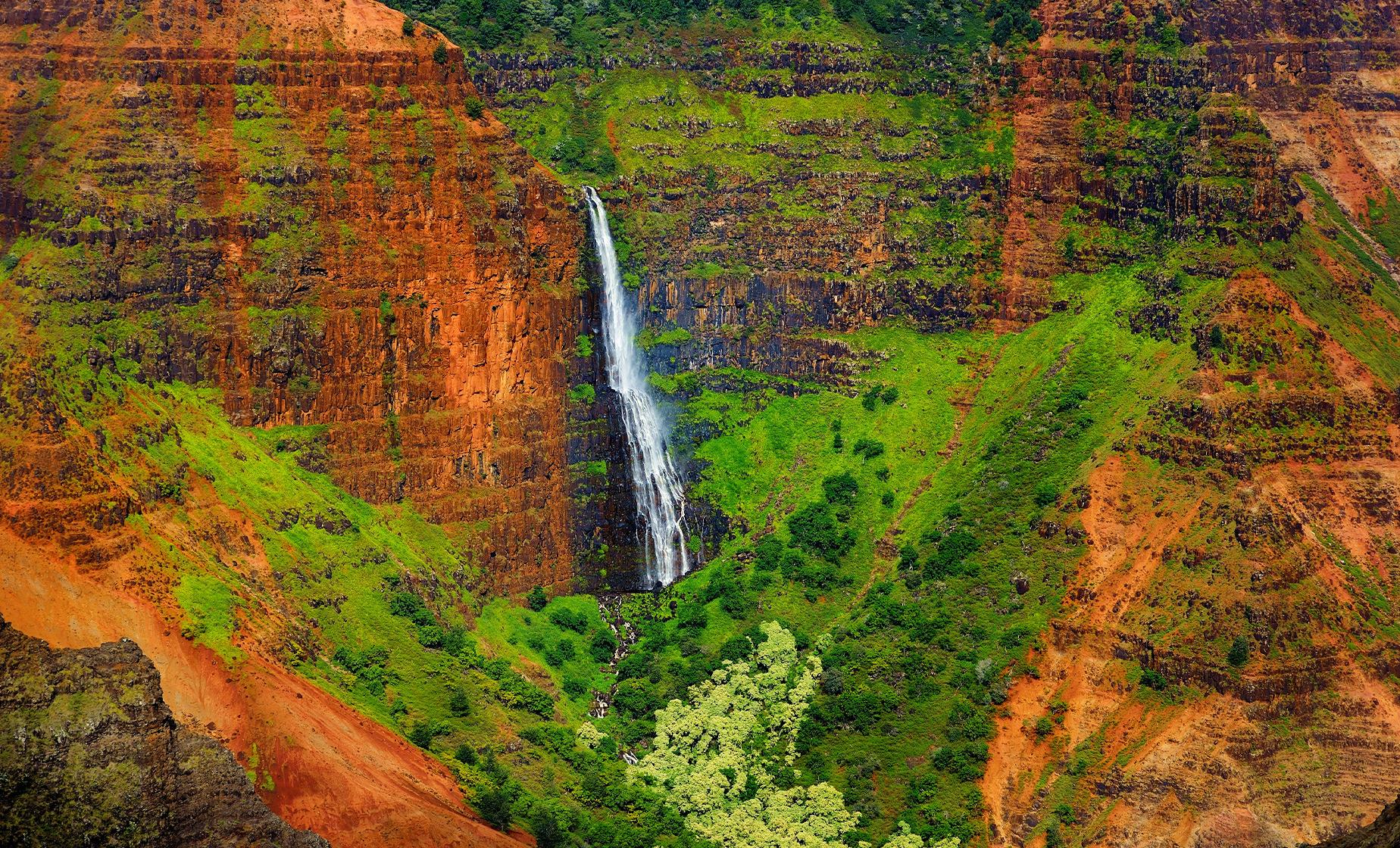 Journey to Waimea Canyon Tour in Kauai (Spouting Horn, Old Koloa Town)