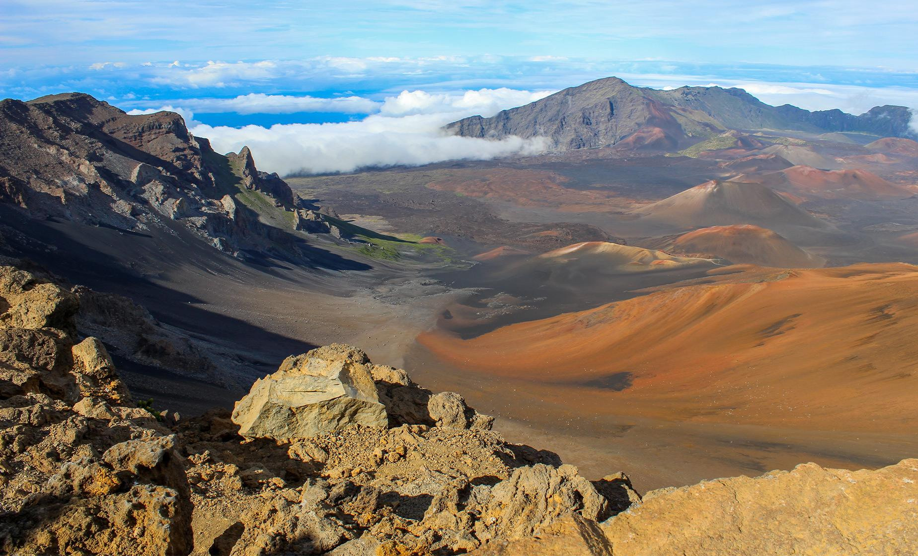 Haleakala Crater, Upcountry and Iao Valley