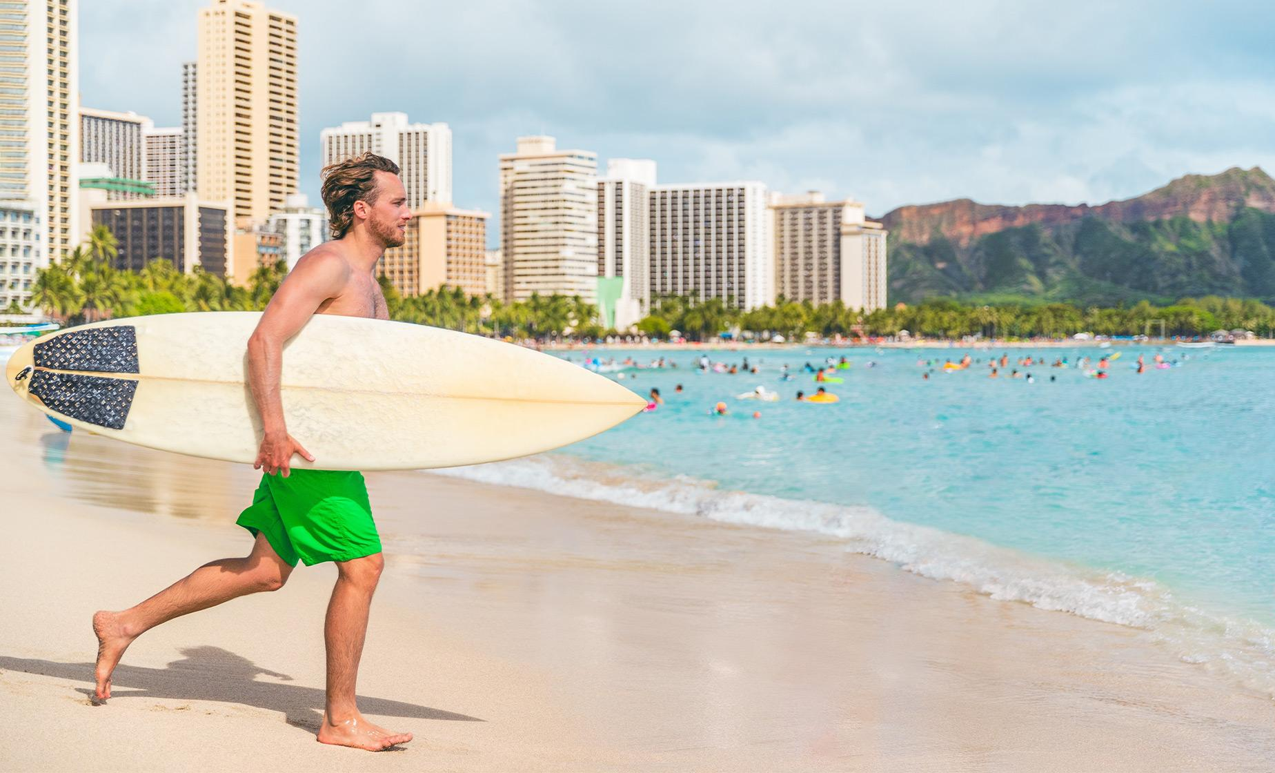 Small Group Surfing Lesson Tour in Oahu (Waikiki Beach)