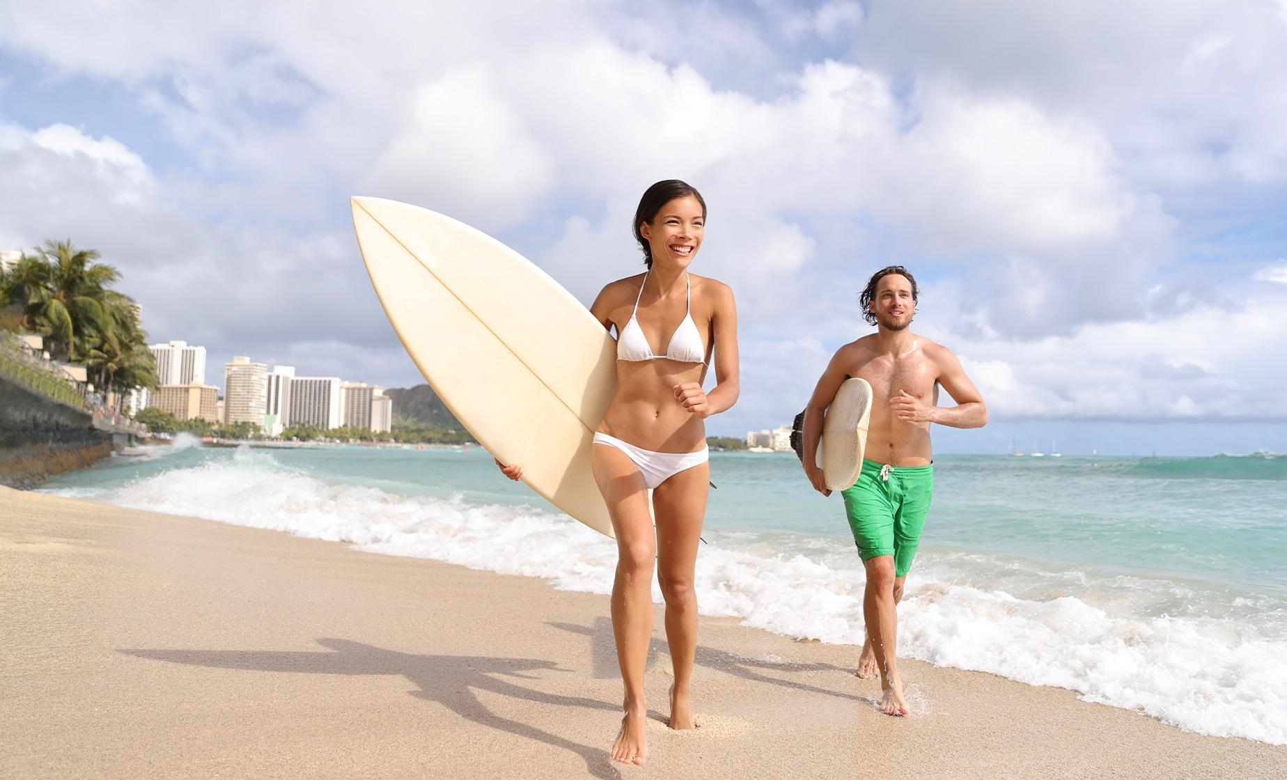Private Surfing Lesson Tour in Oahu (Waikiki Beach)