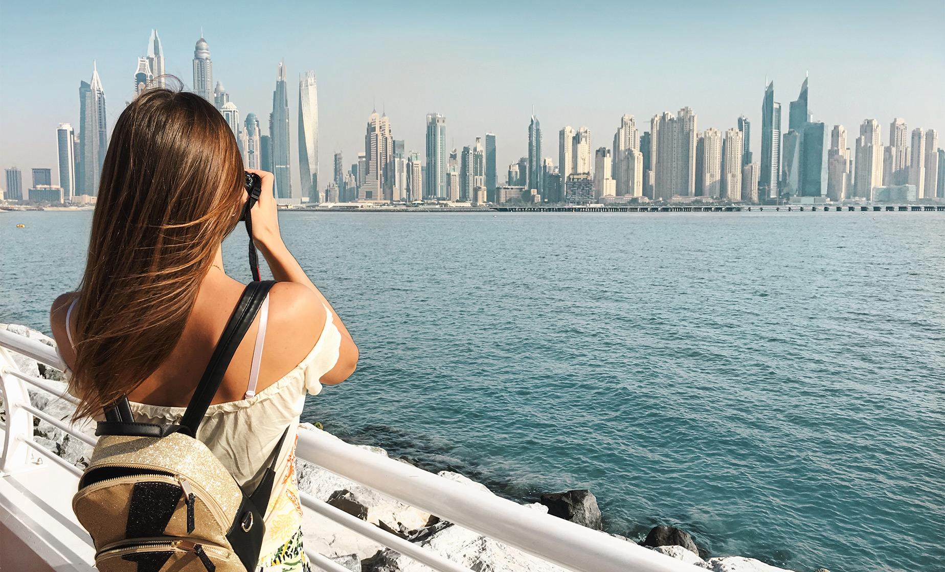 Private Palm Jumeirah, Burj Al Arab & Dubai Marina Visit by Sea