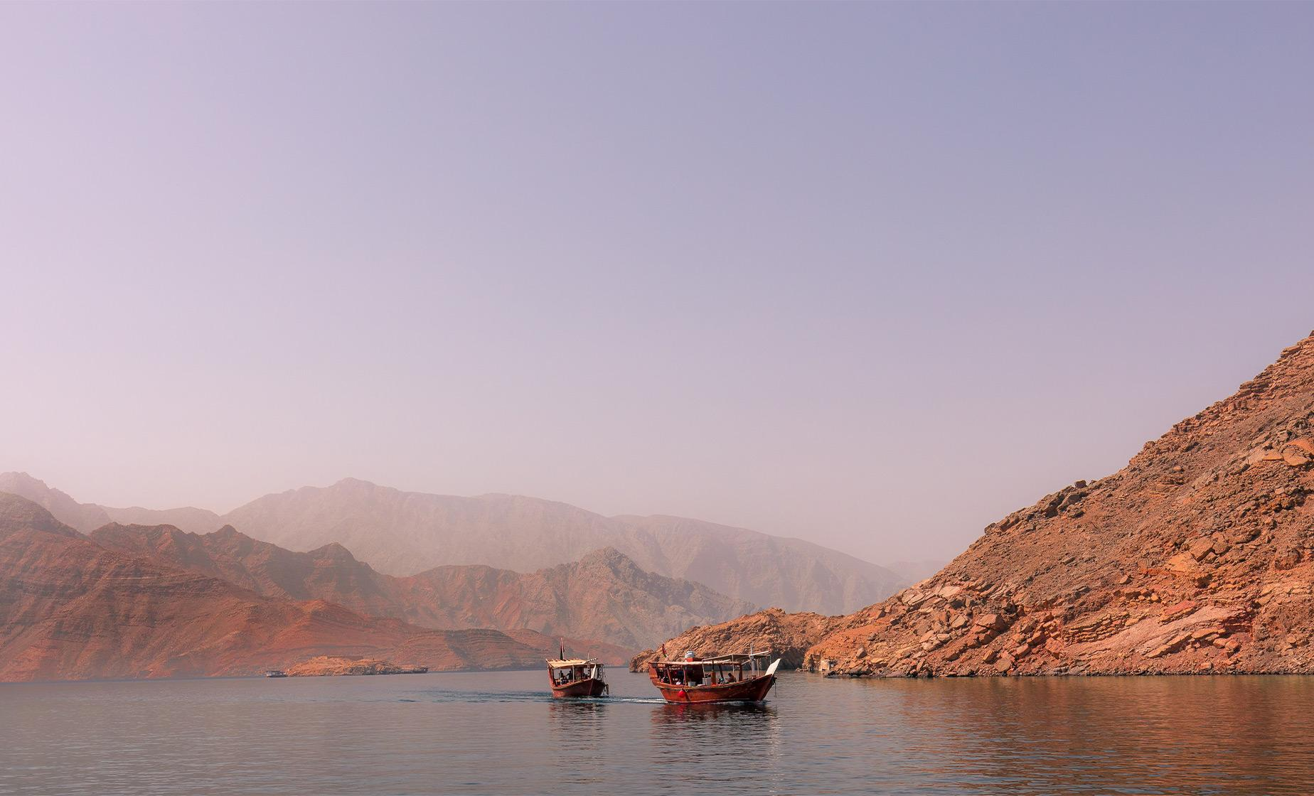 Spectacular Dhow Cruise to the Fjords with Dolphin Watch and Snorkeling