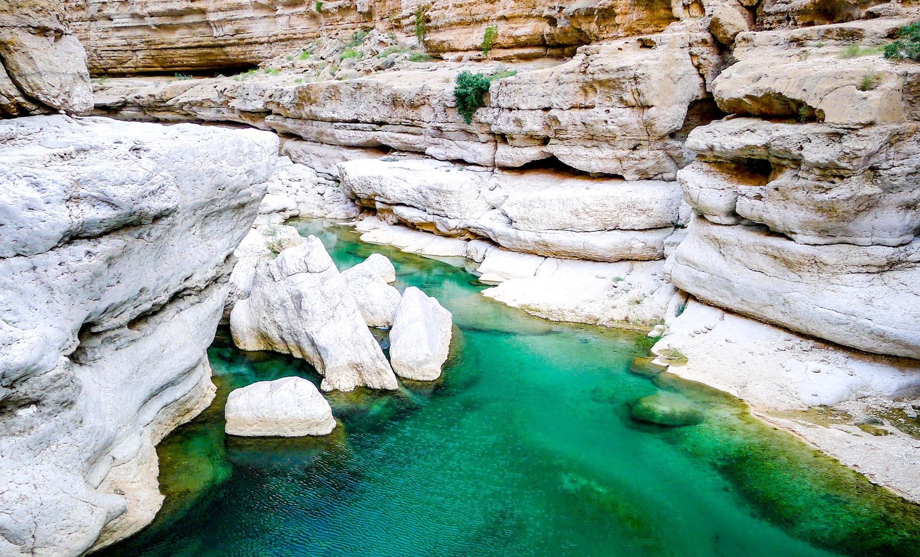 Wadi Shab Adventure