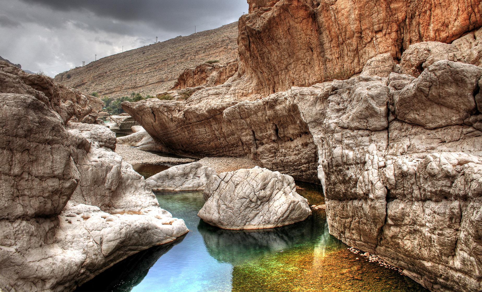 Wadi Bani Awf & Snake Gorge Visit