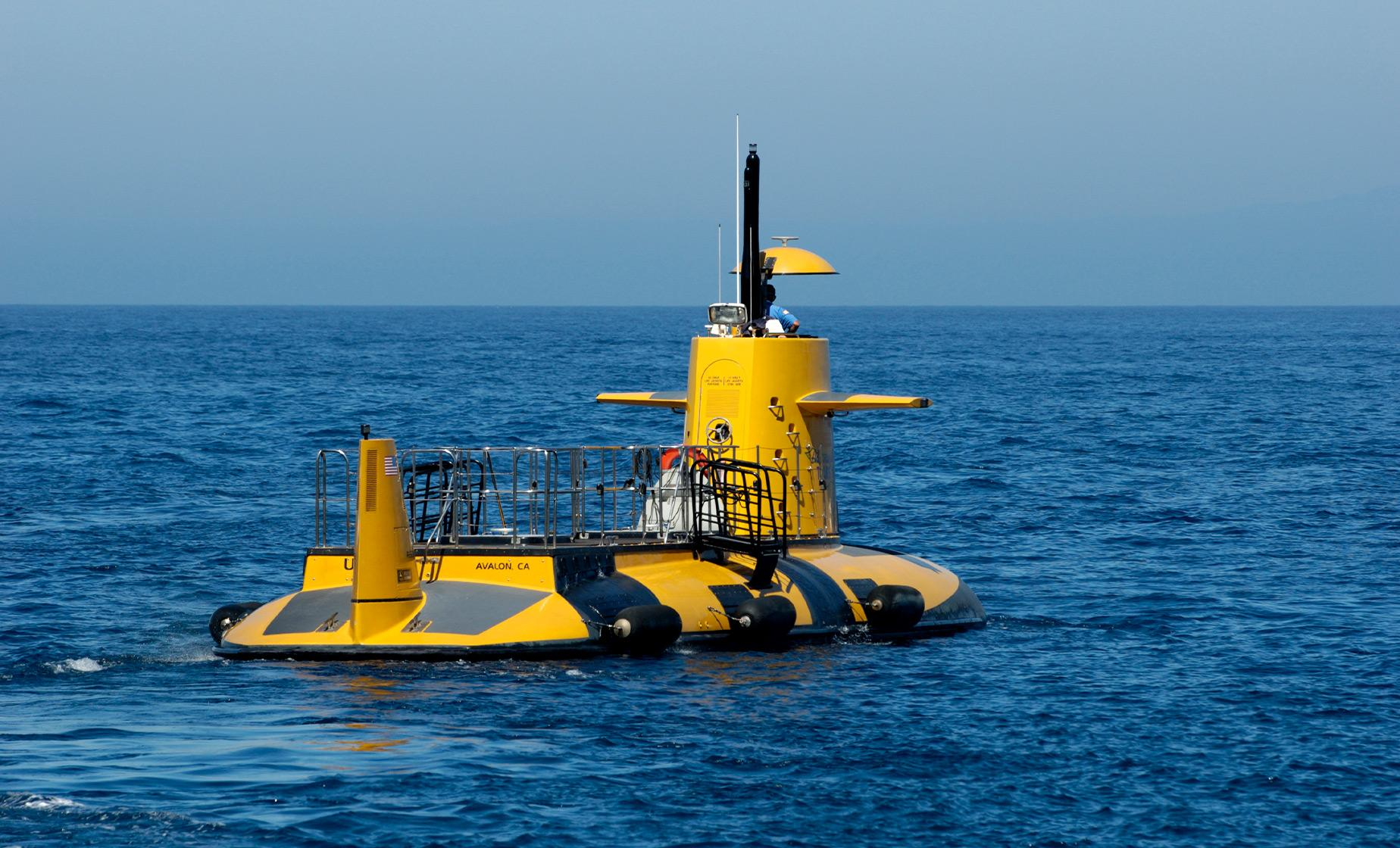 Catalina Semi - Submarine