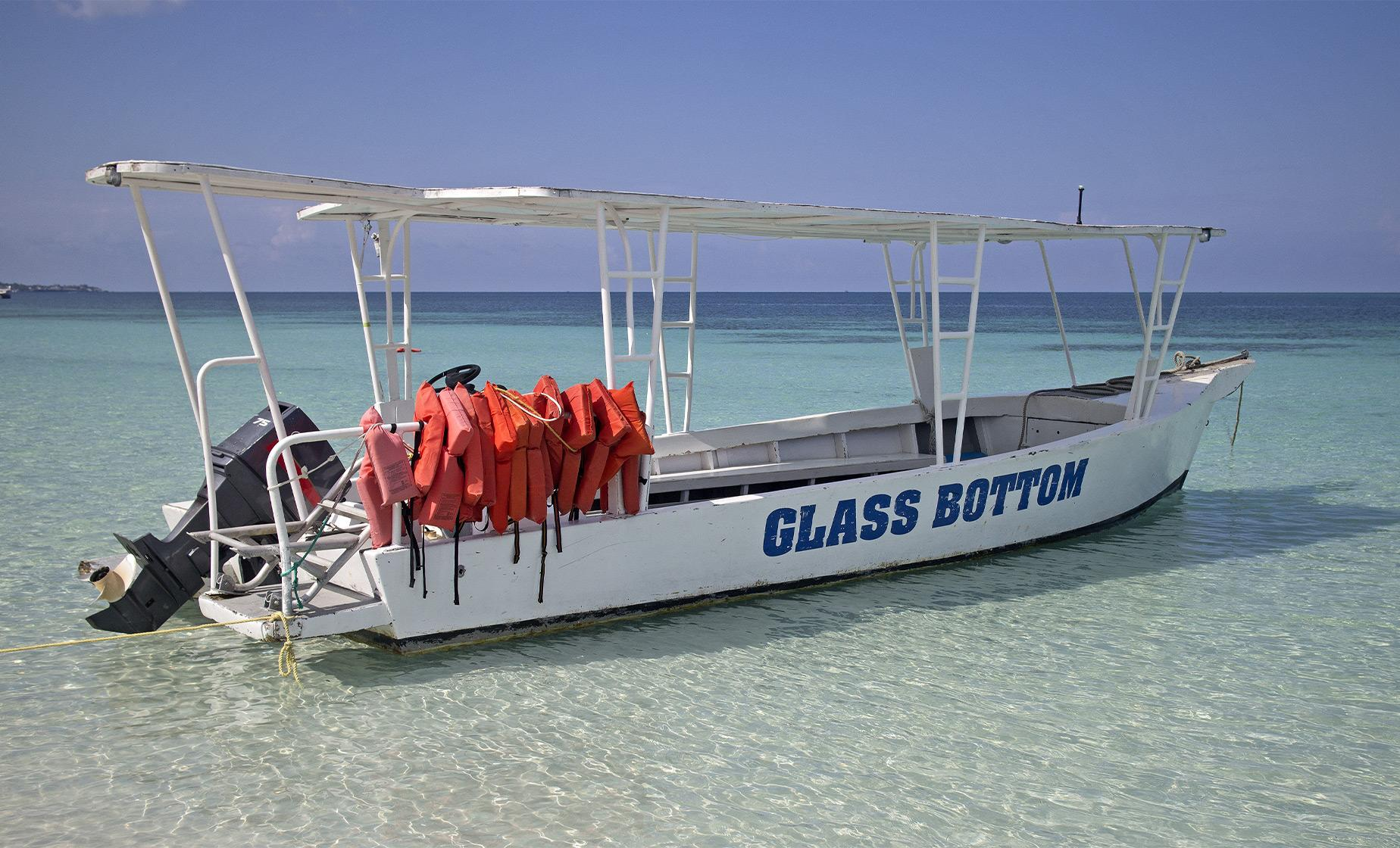 Glass Bottom Boat to Lands End