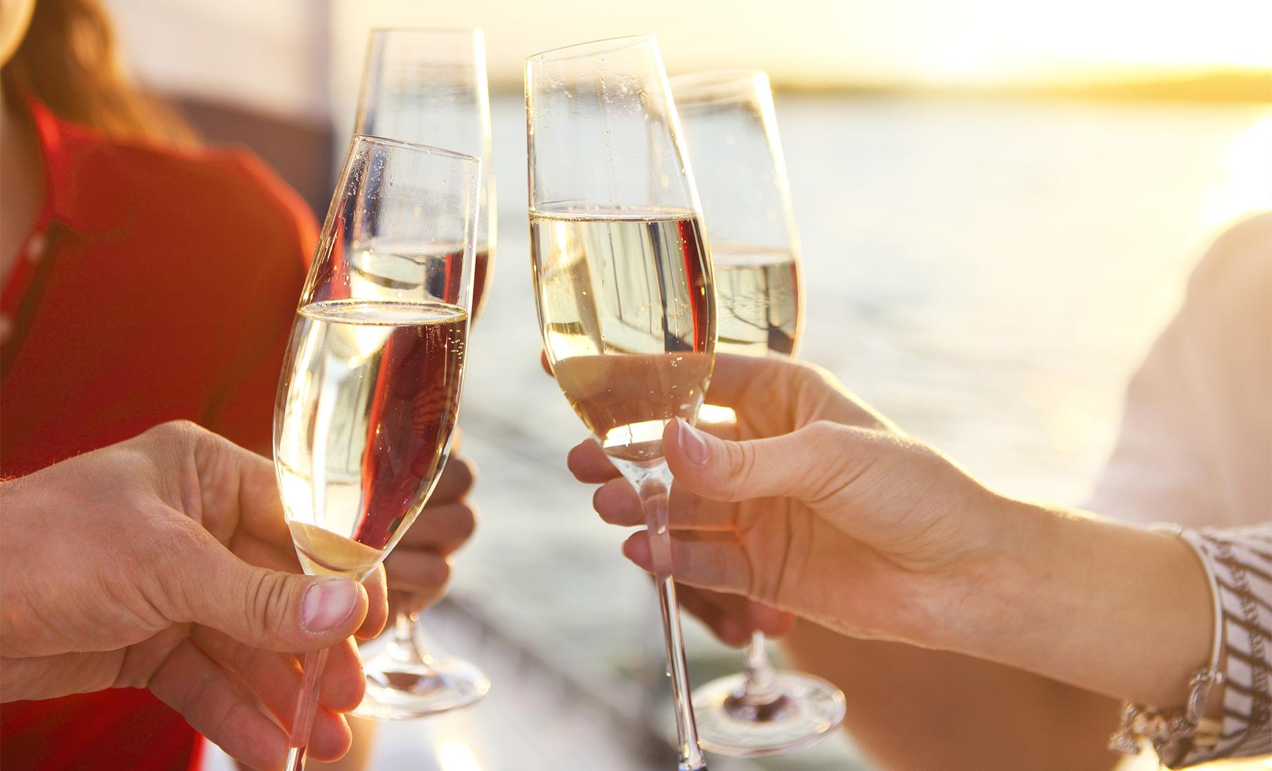 Champagne Brunch Cruise of Los Angeles Tour (Marina del Rey Fisherman's Village)