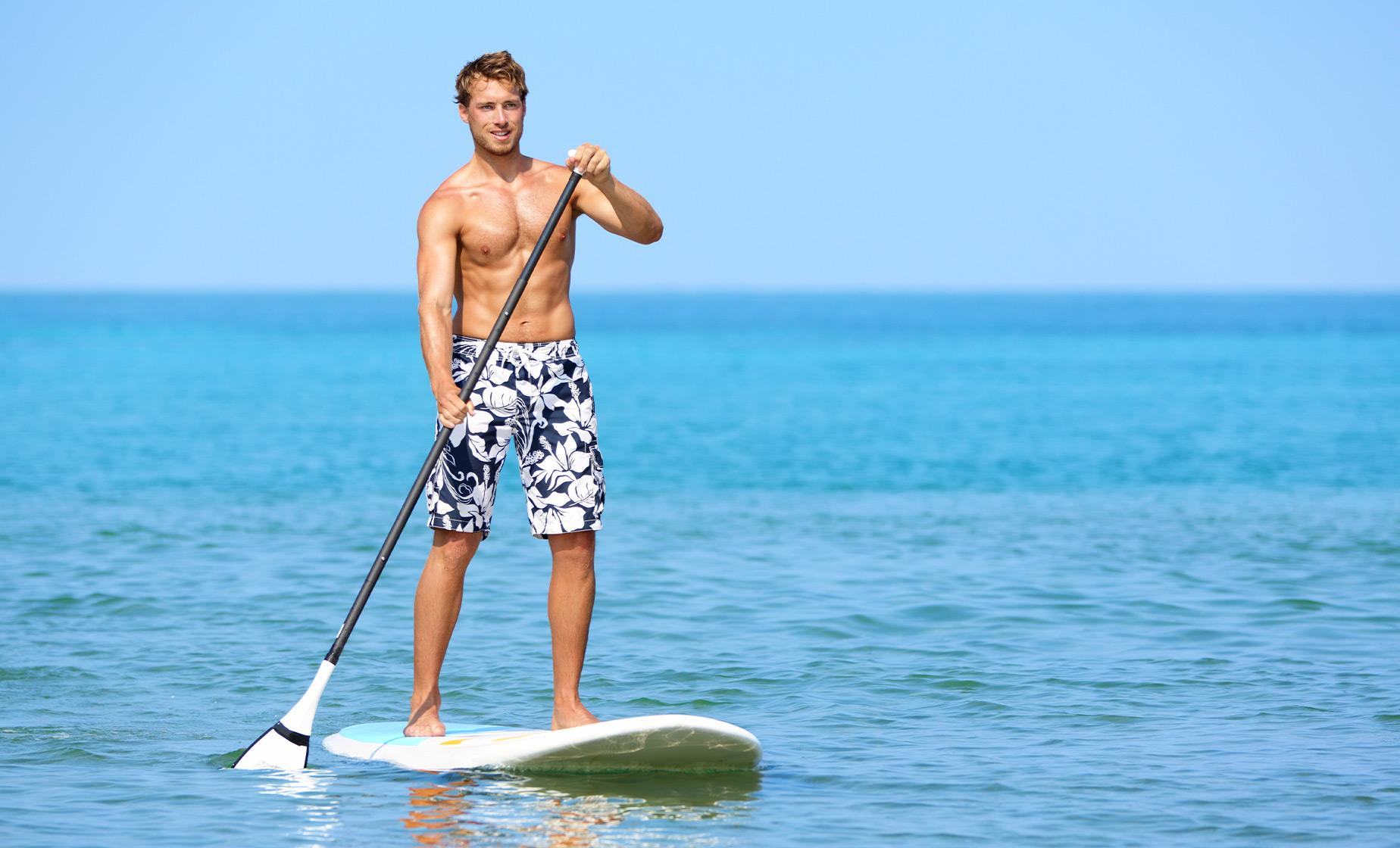 Stand Up Paddle Board Experience from Santa Barbara | Coastal Stand Up Paddle Board Lesson