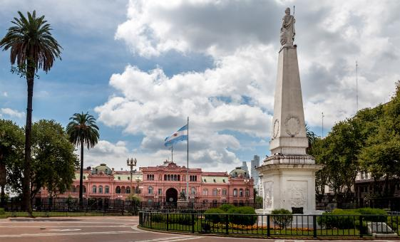 City Walking Tour in Buenos Aires (Plaza de Mayo, Casa Rosada, City Hall)
