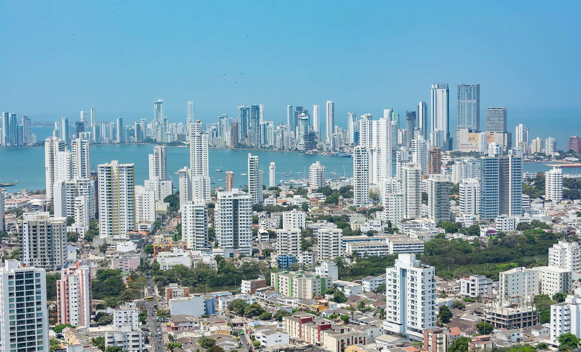Panoramic Cartagena and Shopping