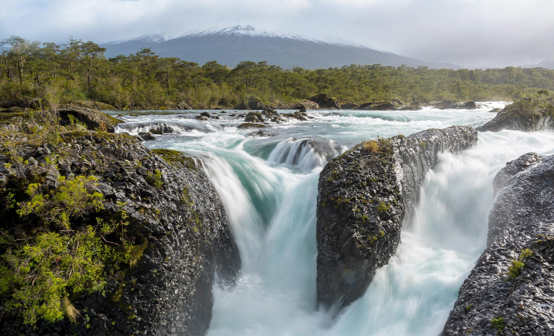 Private Puerto Montt, City of Roses & Petrohue Falls Sightseeing