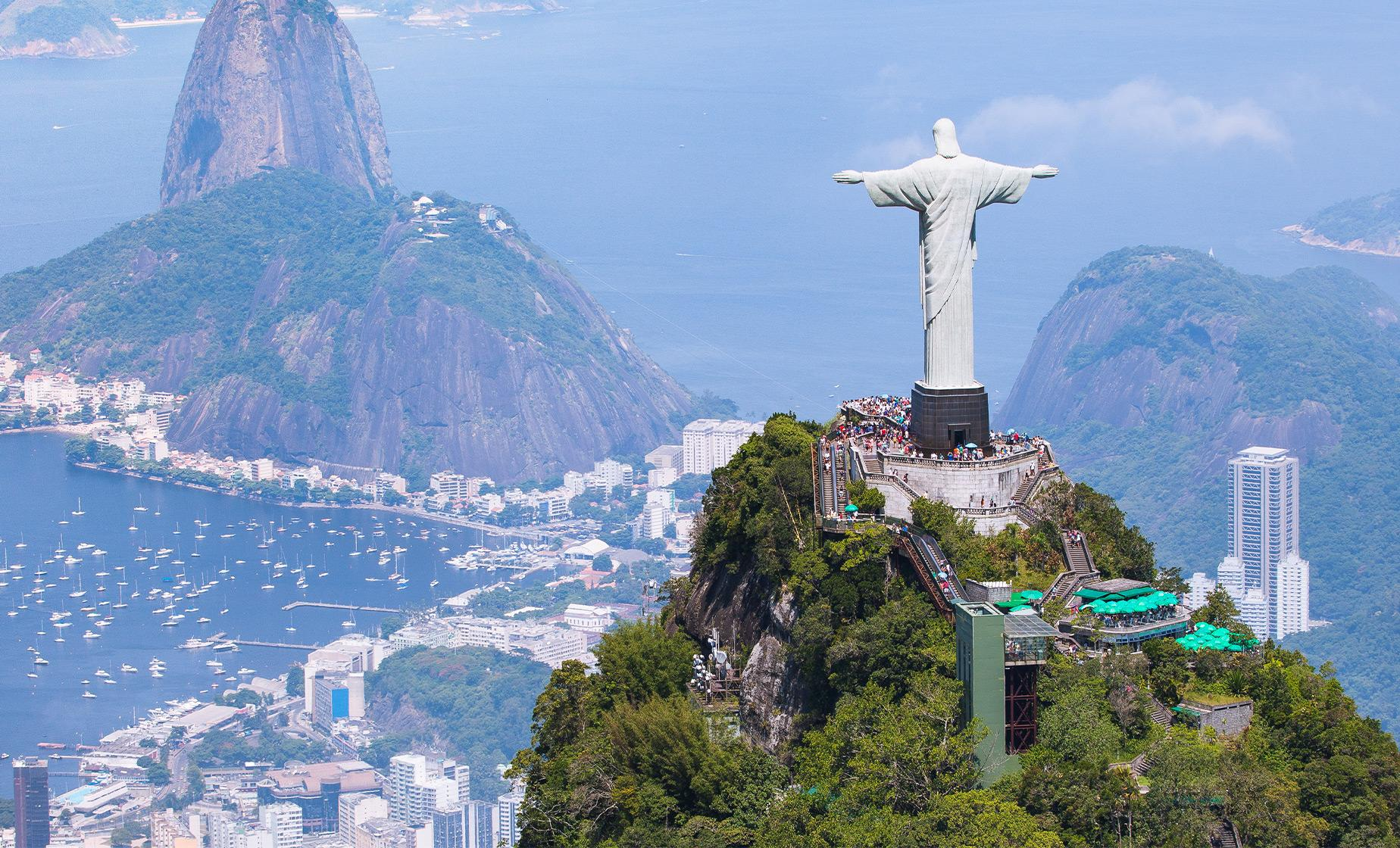Corcovado and Christ the Redeemer Statue