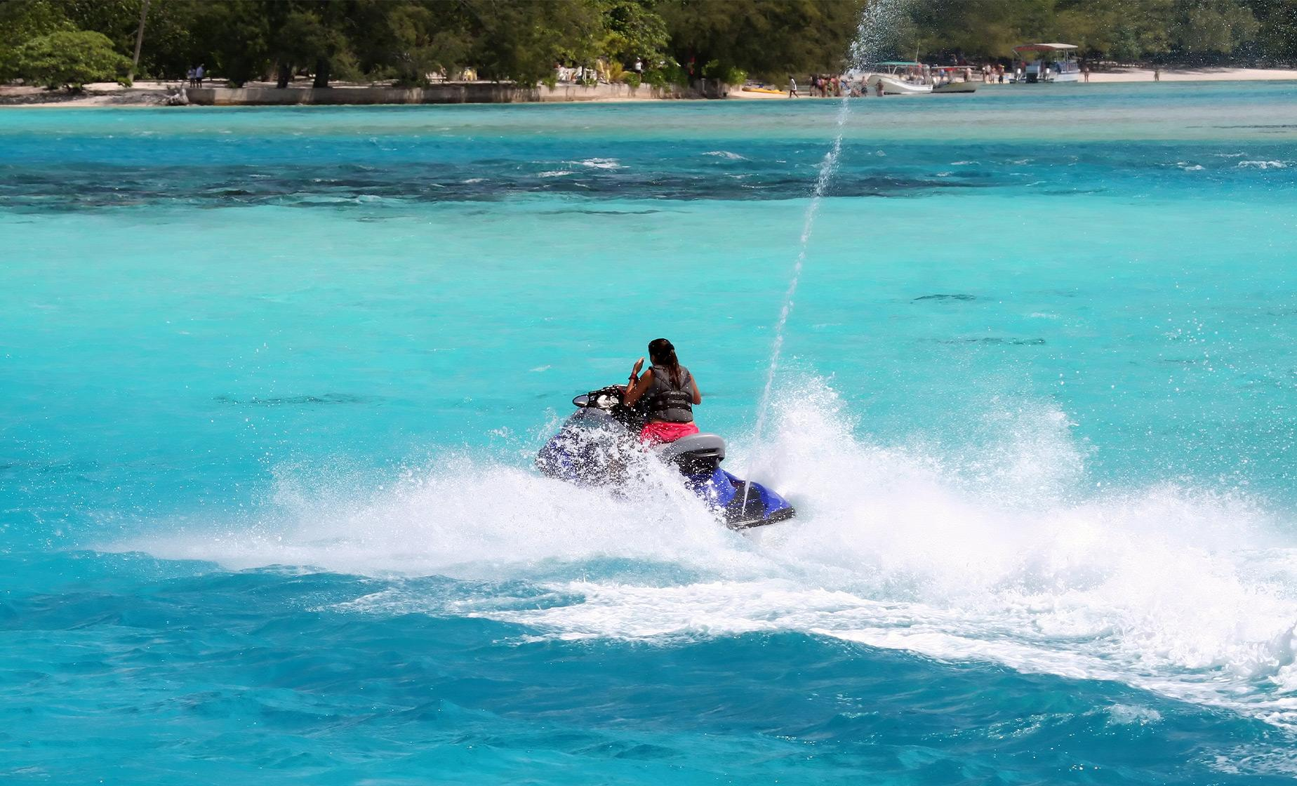 Moorea Jet Ski and ATV Adventure