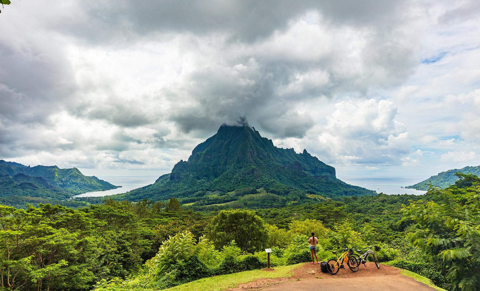 Tahiti by E-Bike