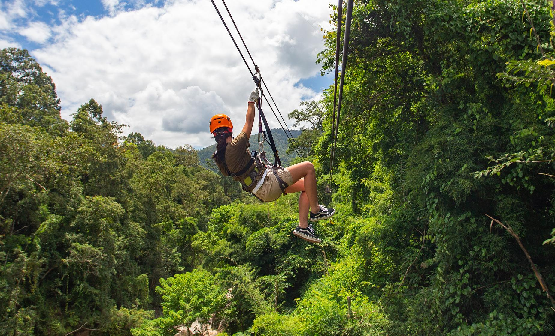 Port Denarau Zipline Adventure