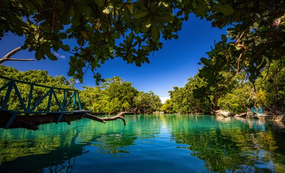 Vanuatu Adventure and the Blue Lagoon