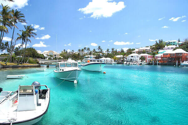 Bermuda excursions to town port docks.
