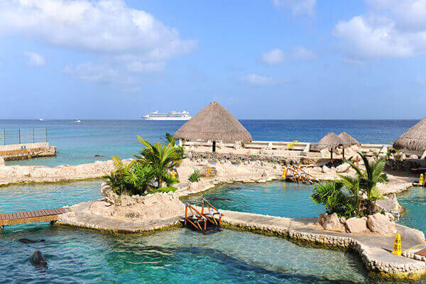 Cozumel cruise excursions to beach destination.