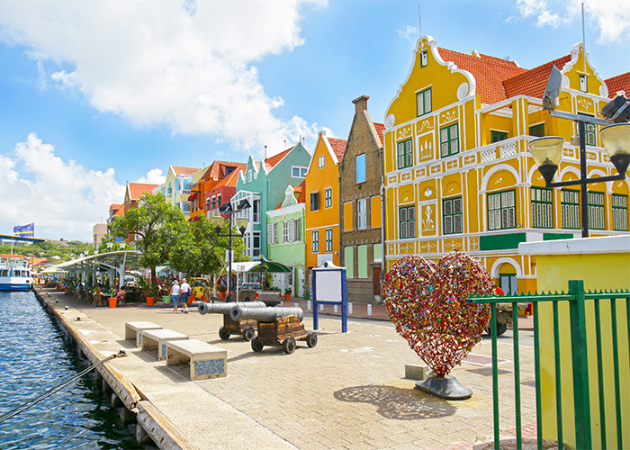 Curacao excursions to port town.