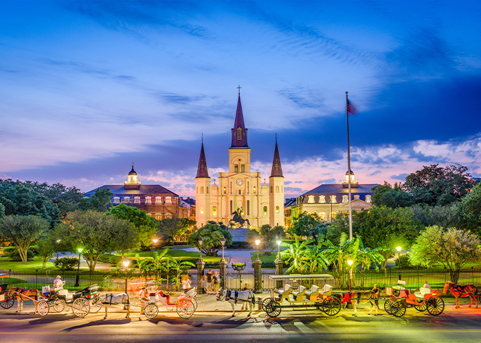 New Orleans tours to Louisiana.