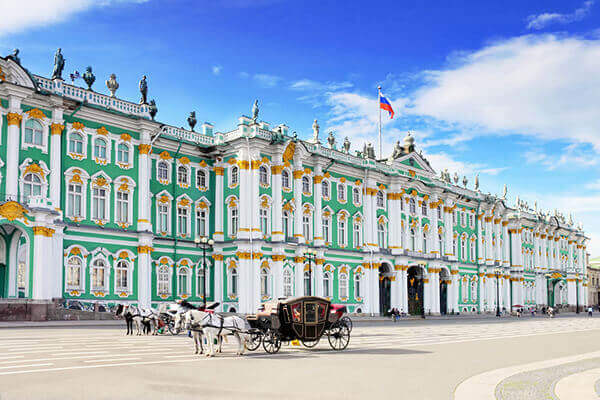 St. Petersburg tours to historical mansion.